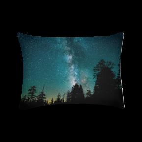 céu galáctico - almofada retangular
