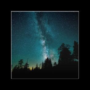 céu galáctico - azulejo