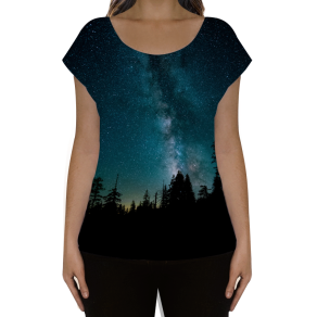 céu galáctico - camiseta 1