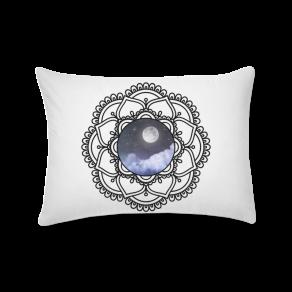 mandala lunar - almofada retangular