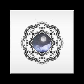 mandala lunar - azulejo