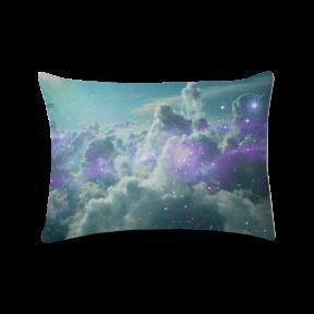 nuvens estelares - almofada retangular