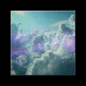 nuvens estelares - azulejo