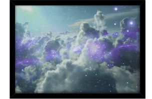 nuvens estelares - poster