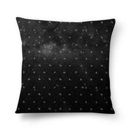 zodíaco espacial - almofada