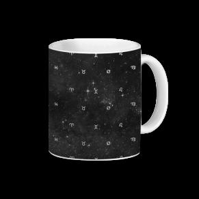 zodíaco espacial - caneca